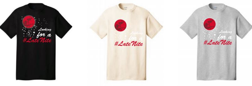 LateNite T-shirts